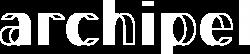Archipel logo blanc