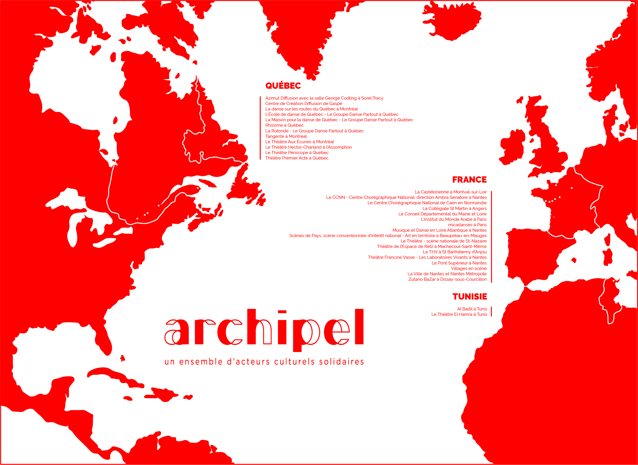 Carte Archipel mai 2021